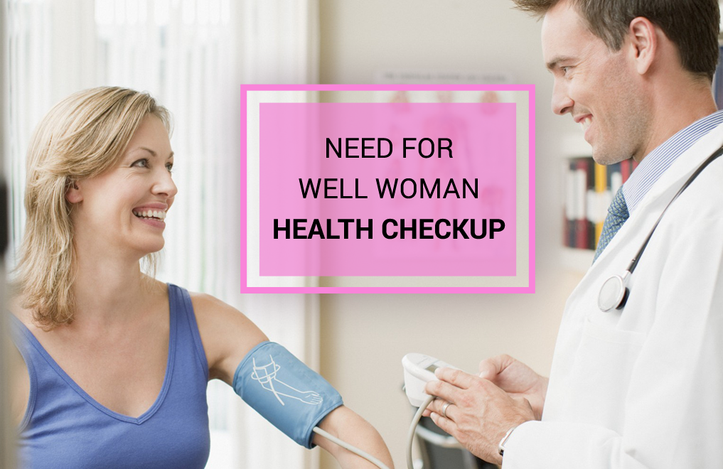 Regular Well Woman Check up in London